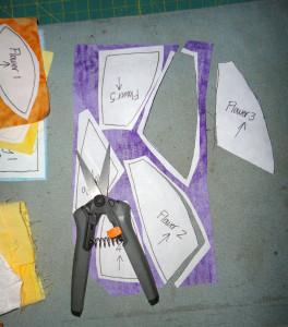 cut out pieces
