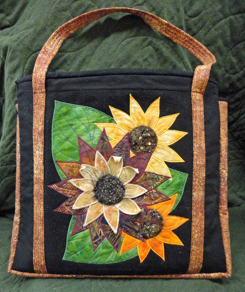 Wool-Sunflower-Bag-Front