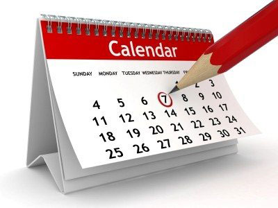 Calendar-of-Events-desk-red